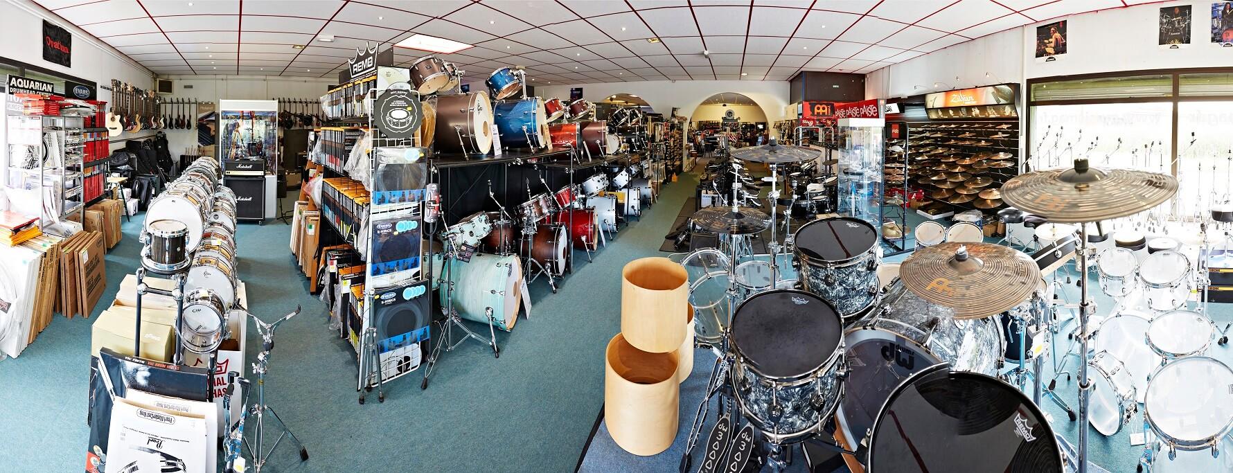 Batteries, Percussions et accessoires, Music Mag à Wittenheim