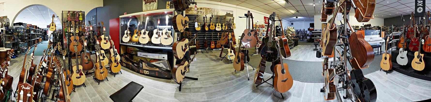 Music Mag Wittenheim, guitare classique, acoustique, folk et électrique