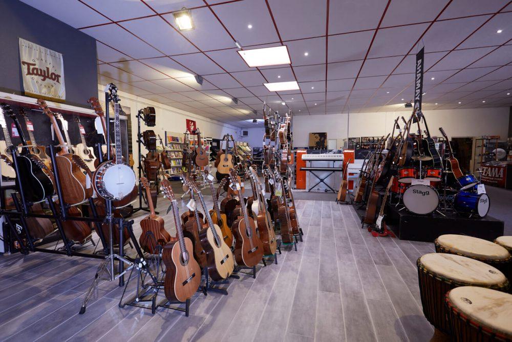Music Mag Wittenheim intérieur